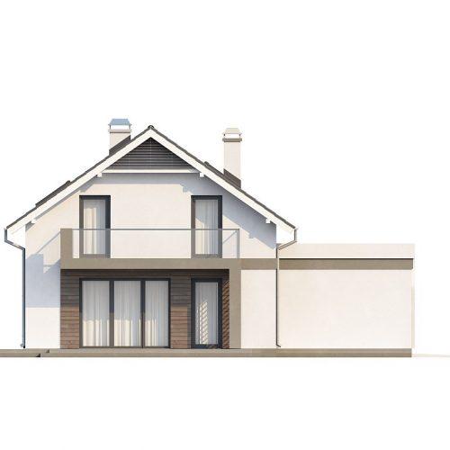 Фасад дома Z168 2
