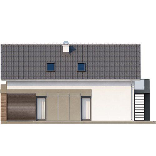 Фасад дома Z168 3
