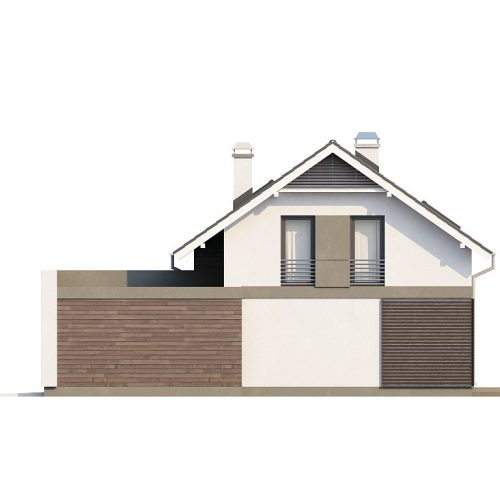 Фасад дома Z168 4