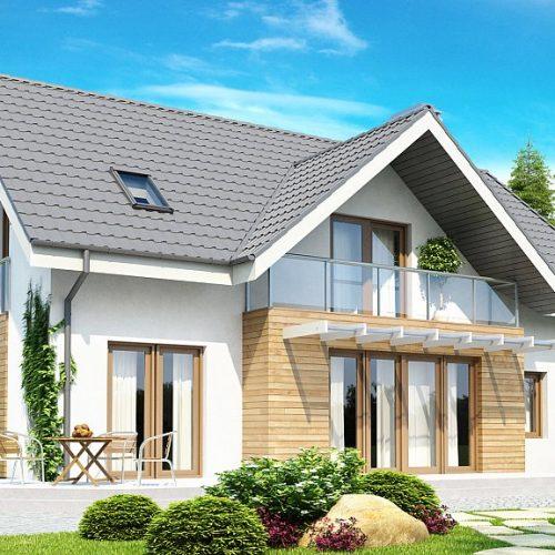 Фото проекта дома Z170 вид 2