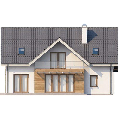 Фасад дома Z170 3