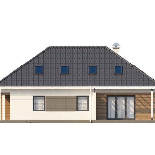 Фасад дома Z173 3