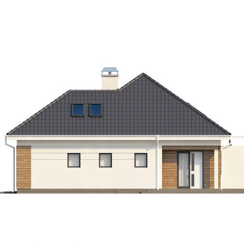 Фасад дома Z173 4