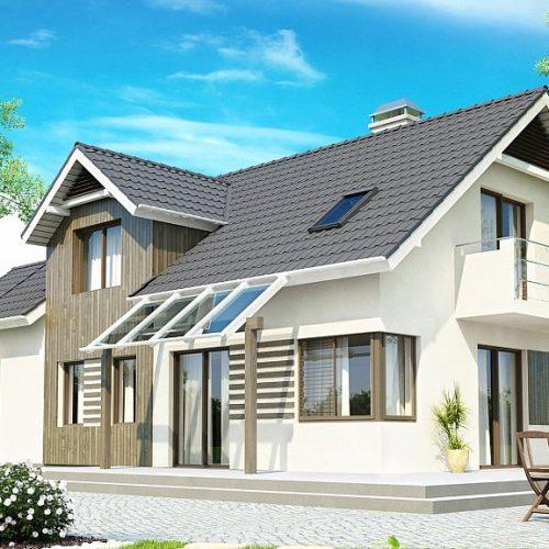 Фото проекта дома Z175 вид 2