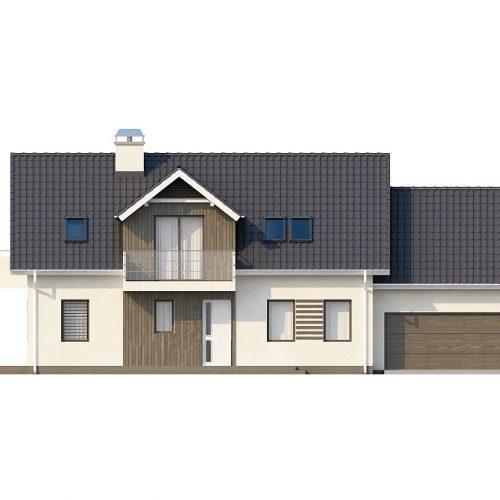 Фасад дома Z175 1