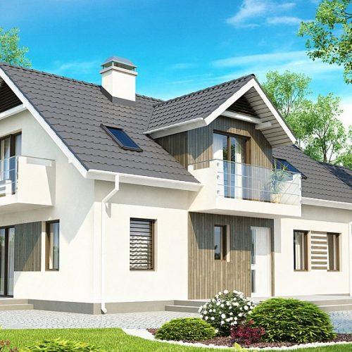 Фото проекта дома Z175 вид с улицы