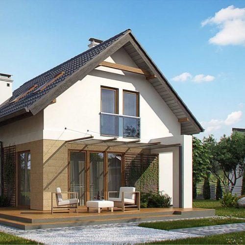 Фото проекта дома Z177 dk вид 2