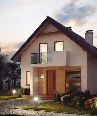 Фото проекта дома Z177 dk вид с улицы