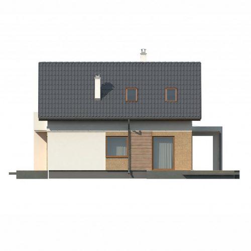 Фасад дома Z177 dk 4