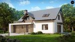 Фото проекта дома Z179 вид с улицы