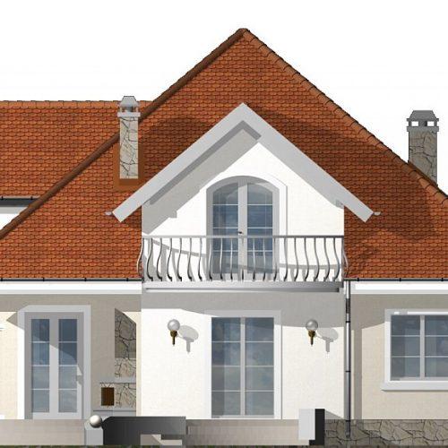Фасад дома Z18 dk 2