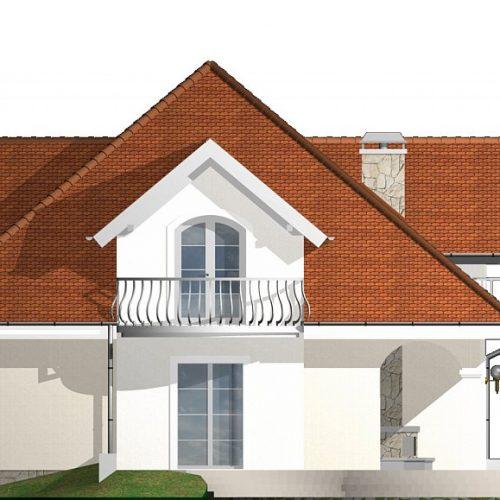 Фасад дома Z18 dk 3