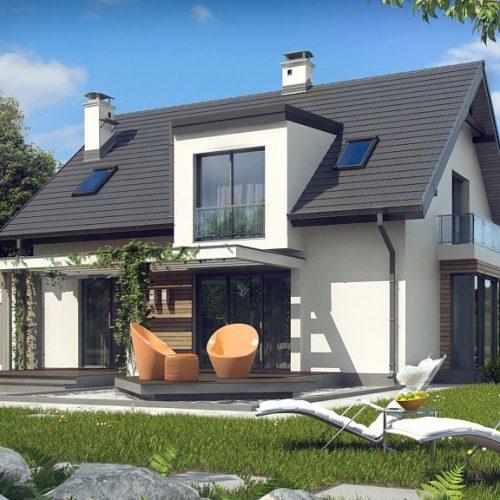 Фото проекта дома Z189 вид 2