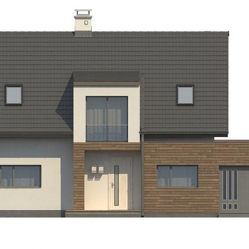 Фасад дома Z189 1