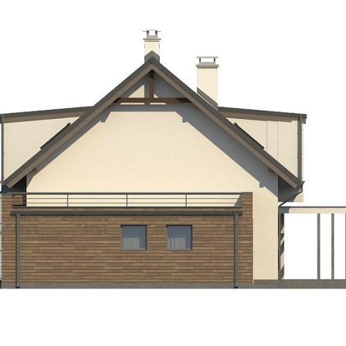 Фасад дома Z189 3