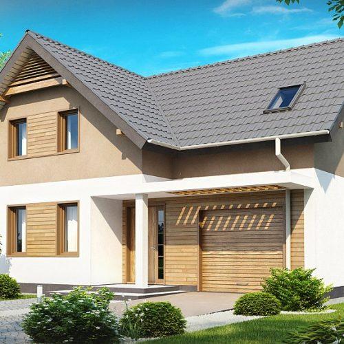 Фото проекта дома Z197 вид с улицы