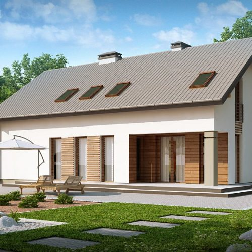 Фото проекта дома Z198 вид 2