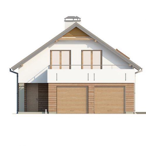 Фасад дома Z198 1