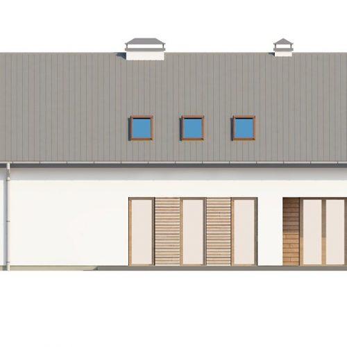 Фасад дома Z198 3