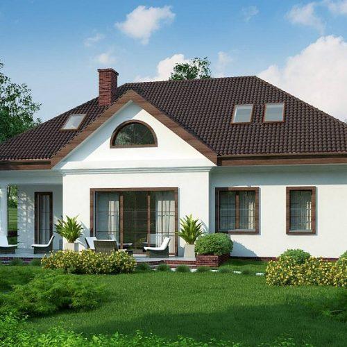 Фото проекта дома Z2 A вид 2