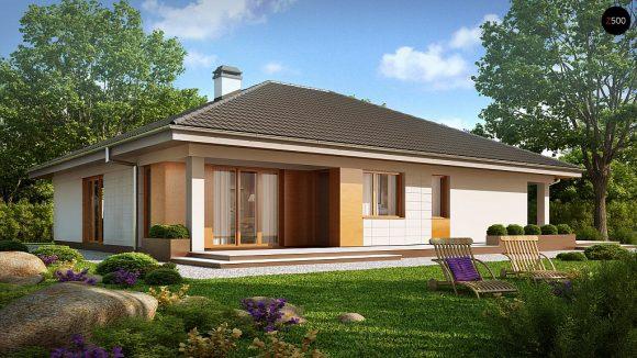 Фото проекта дома Z209 вид с улицы