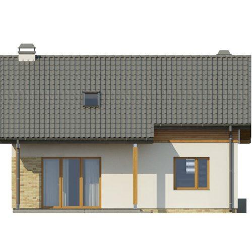 Фасад дома Z210 2