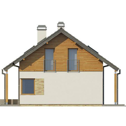 Фасад дома Z210 3