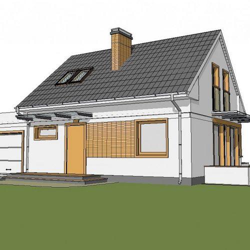Фото проекта дома Z211 GL вид 2