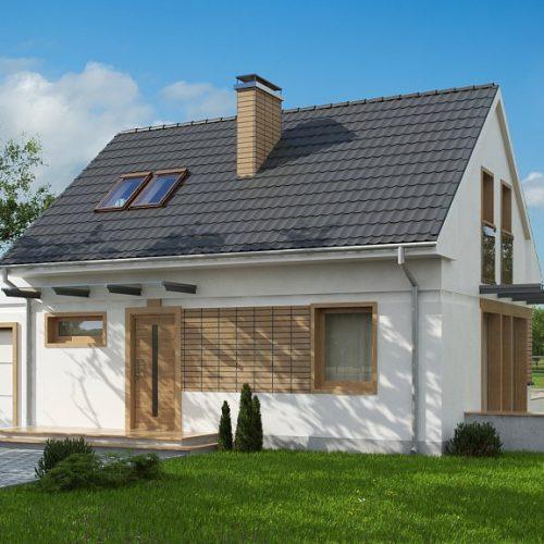 Фото проекта дома Z211 GL вид с улицы