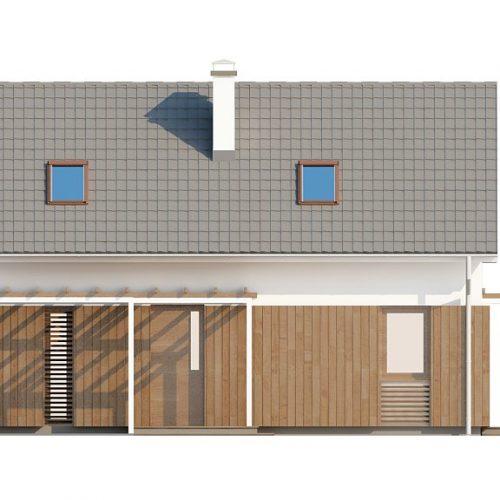 Фасад дома Z213 1