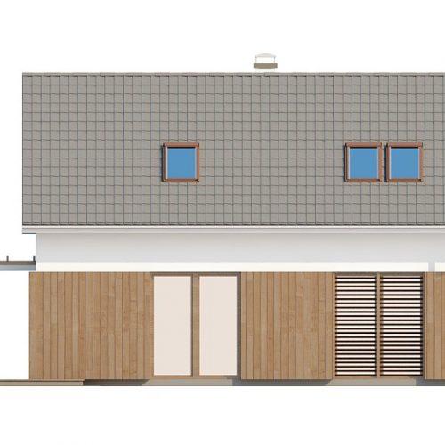 Фасад дома Z213 2