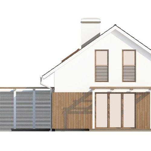 Фасад дома Z213 3