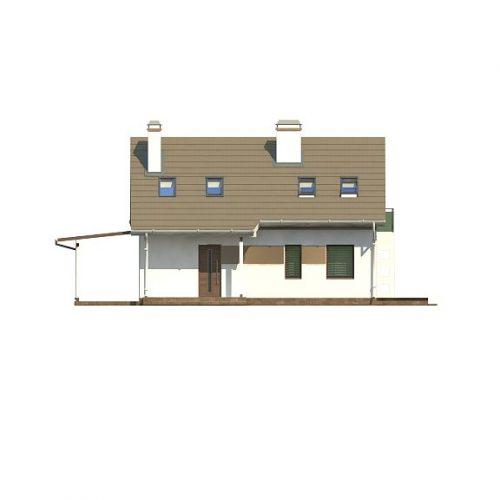 Фасад дома Z216 + 1