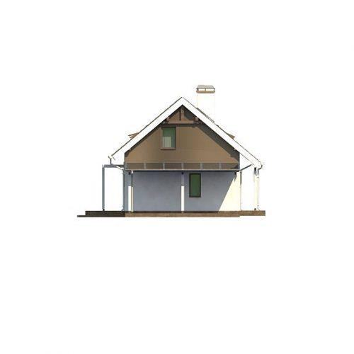Фасад дома Z216 + 2