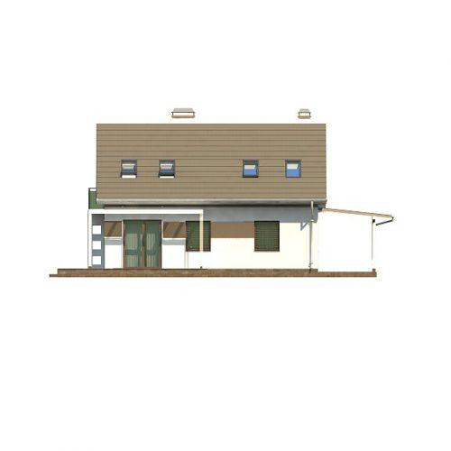 Фасад дома Z216 + 3