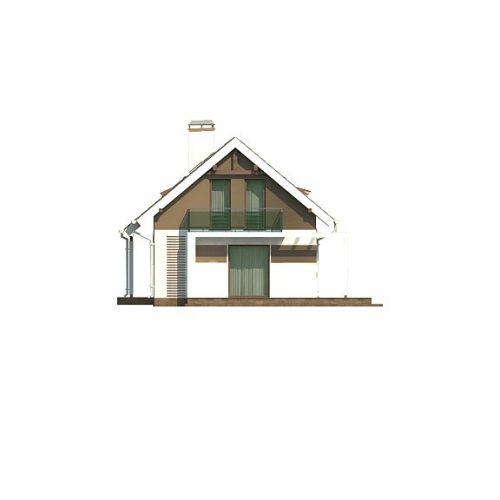 Фасад дома Z216 + 4