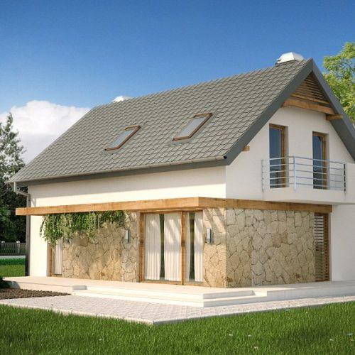 Фото проекта дома Z225 вид 2