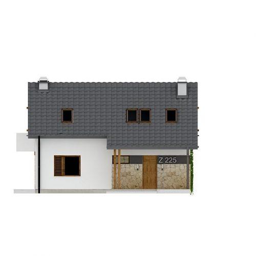 Фасад дома Z225 1