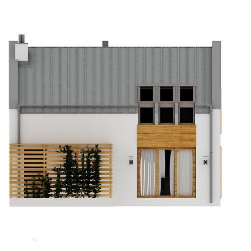 Фасад дома Z229 2