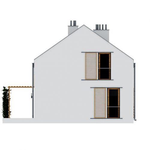 Фасад дома Z229 3