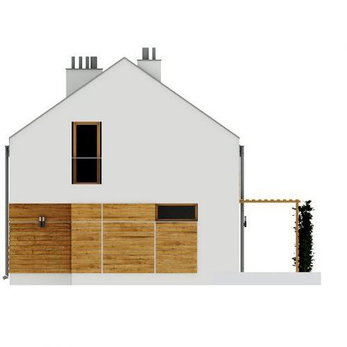 Фасад дома Z229 4