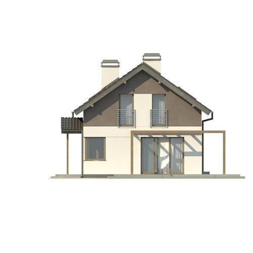 Фасад дома Z233 1