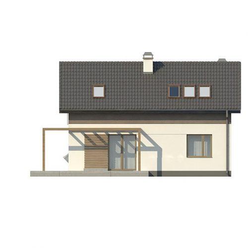 Фасад дома Z233 4