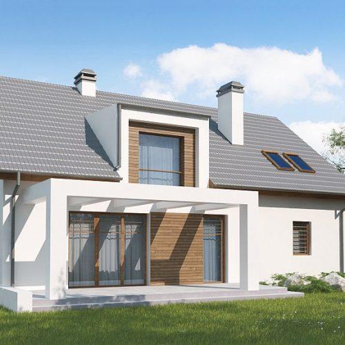Фото проекта дома Z236 GL2 вид 2