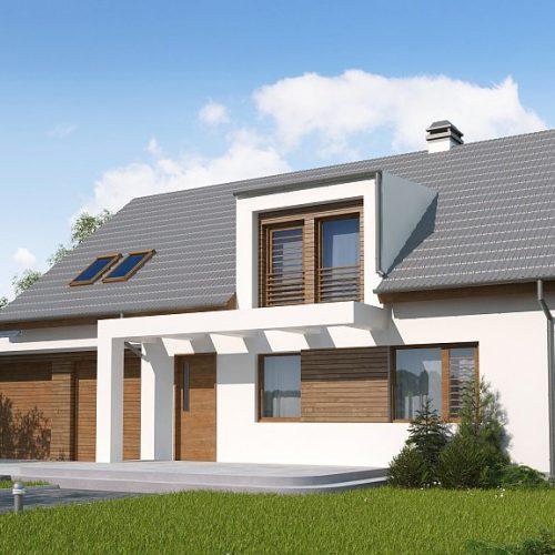 Фото проекта дома Z236 GL2 вид с улицы