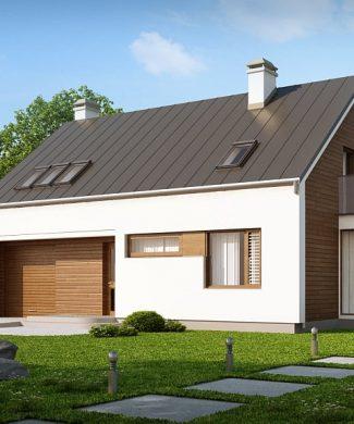 Фото проекта дома Z237 вид с улицы