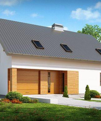 Фото проекта дома Z239 вид с улицы