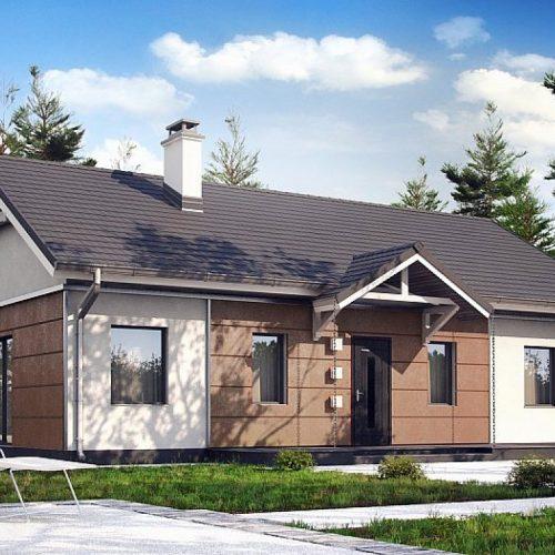 Фото проекта дома Z241 S вид с улицы