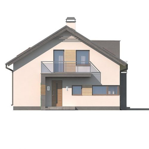 Фасад дома Z245 2