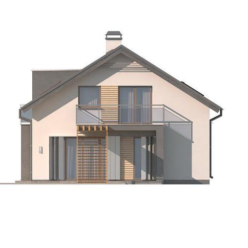 Фасад дома Z245 3